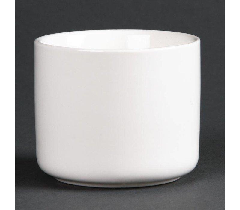XXLselect Hoge Ramekin | Lumina Wit Porselein | 69mm | 6 Stuks