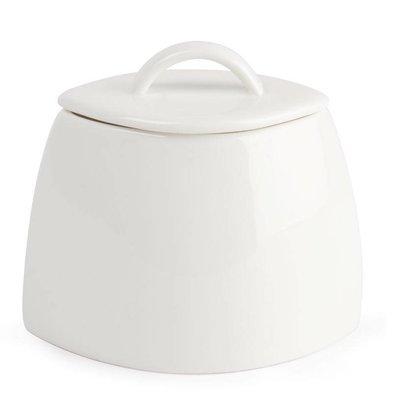 Lumina Suikerpot+Deksel | Lumina Wit Porselein | 200ml | 6 Stuks