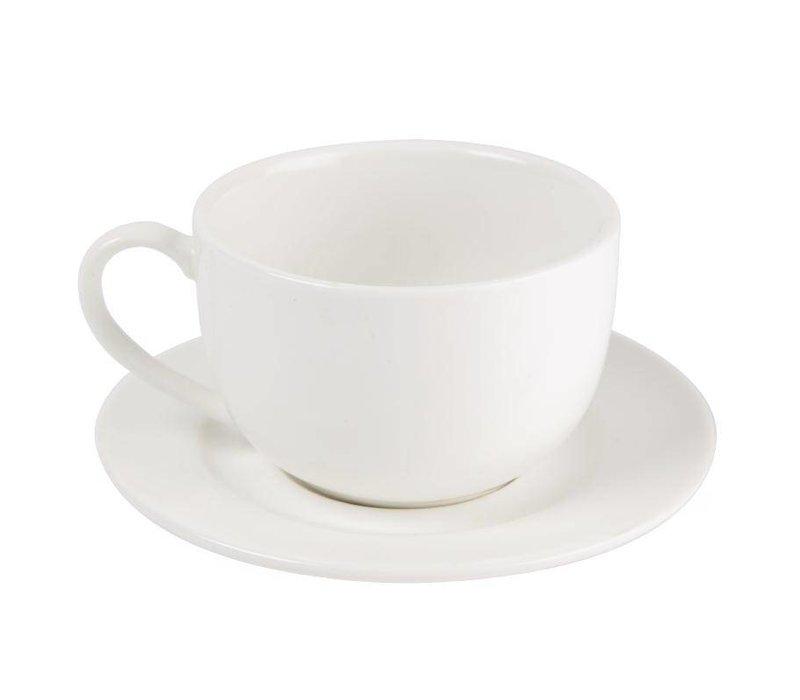 XXLselect Espressokop | Lumina Wit Porselein | 120ml | 6 Stuks