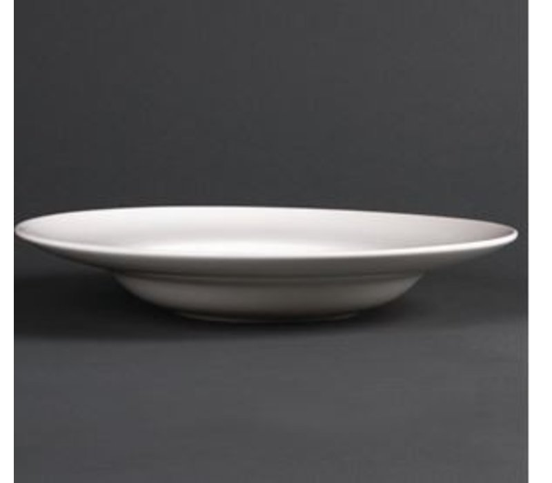 XXLselect Soepbord | Lumina Wit Porselein | 310mm | 2 Stuks