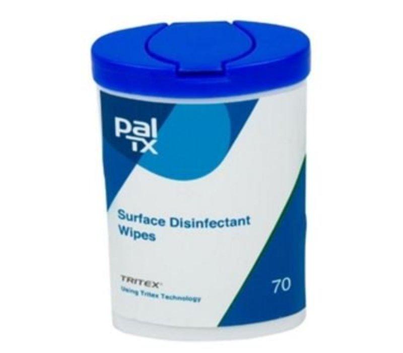 Hygiplas Anti-Bacteriedoekjes | 12 Pakken x 70 Doekjes