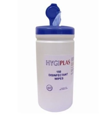Hygiplas Antibacterial Wipes | Pack 150 Wipes