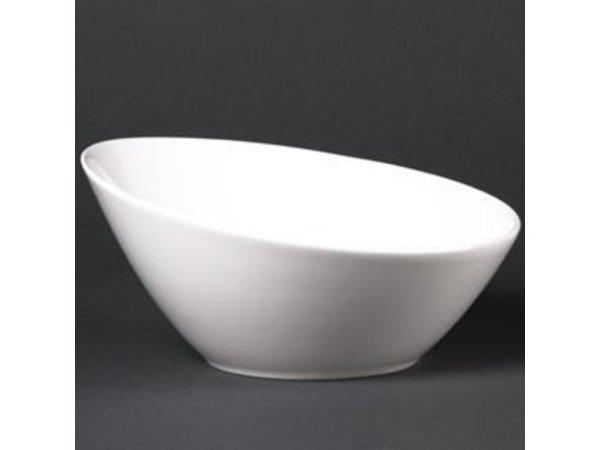XXLselect Ascending Scale   Lumina White Porcelain   200mm   6 pieces