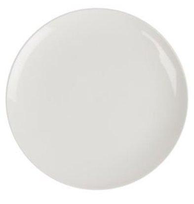 Lumina Fine China Coupe Plate   Lumina White Porcelain   300mm   2 pieces