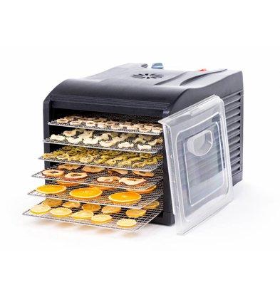 Hendi Lebensmitteltrockner mit Edelstahl-Racks 6