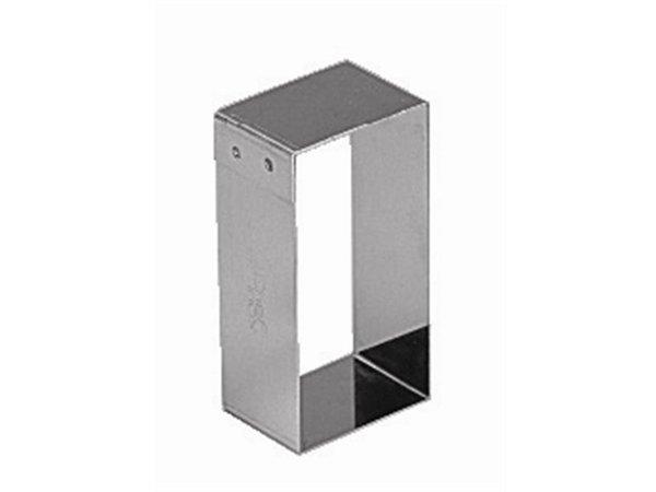 XXLselect Taartvorm Rechthoekig | 81x41mm