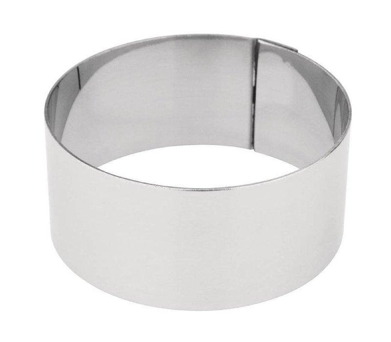 XXLselect Taartvorm Rond | Ø62x30mm