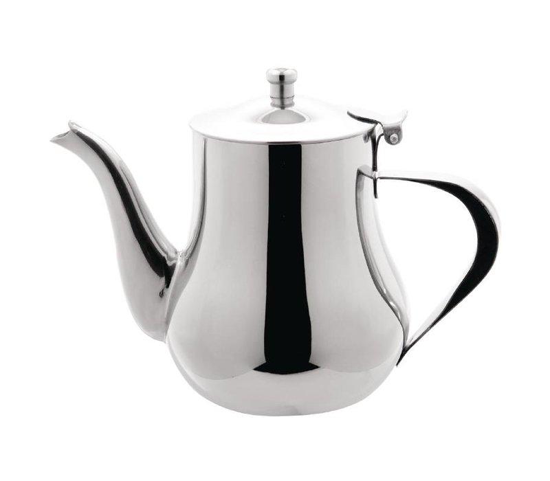 Olympia Arabische Koffiekan | Gepolijst RVS | 700ml