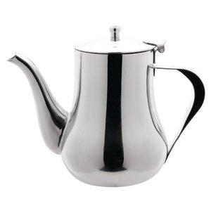 XXLselect Arabische Koffiekan | Gepolijst RVS | 1 Liter