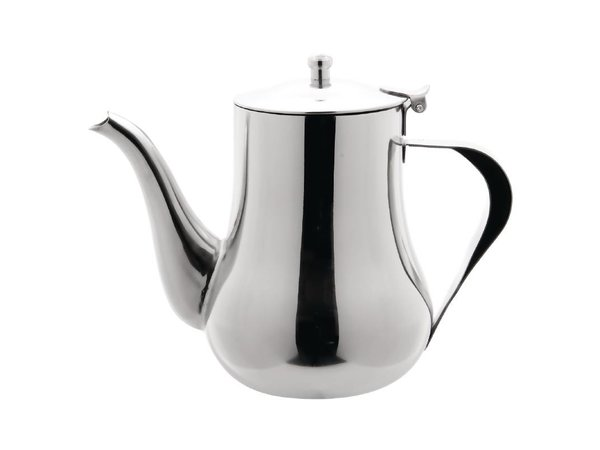 Olympia Arabische Koffiekan | Gepolijst RVS | 1 Liter