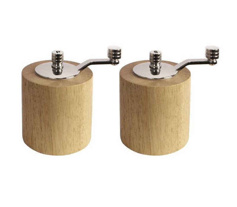 Olympia Bamboo Molen Set | 85mm