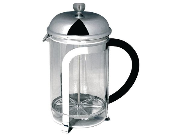 Olympia Cafetiere tot 12 Koppen | RVS Filter | 1500ml