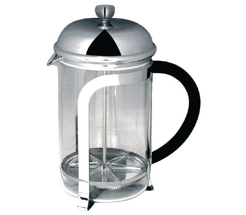 Olympia Cafetiere tot 8 Koppen | RVS Filter | 1000ml