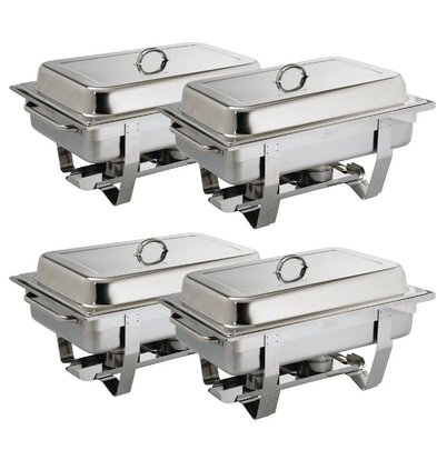 Olympia Chafing Dish Multipak | GN1/1 | 4 stuks