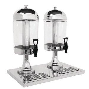 XXLselect Drankdispenser Dubbel | Plastic/RVS | 2x 6,5 Liter