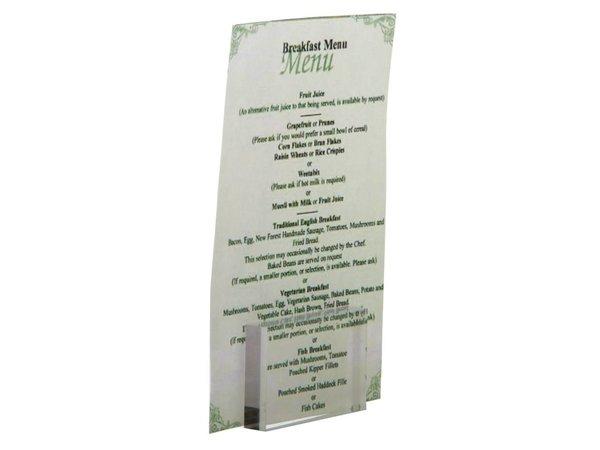 XXLselect Kaarthouder Acryl | 850x300x550(h)mm