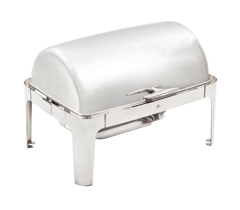 Olympia Chafing Dish RVS  | Roltop Model | 9 Liter
