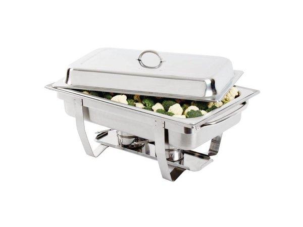 Olympia Chafing Dish RVS | Milan | GN 1/1 | 9 Liter