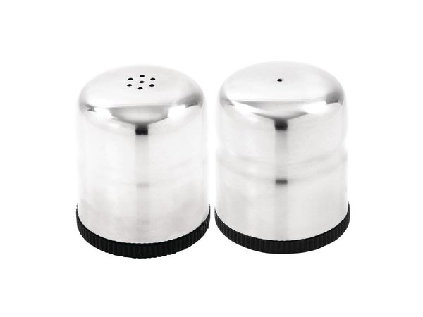 XXLselect Mini Peper en Zout Set | RVS | Ø40x50mm