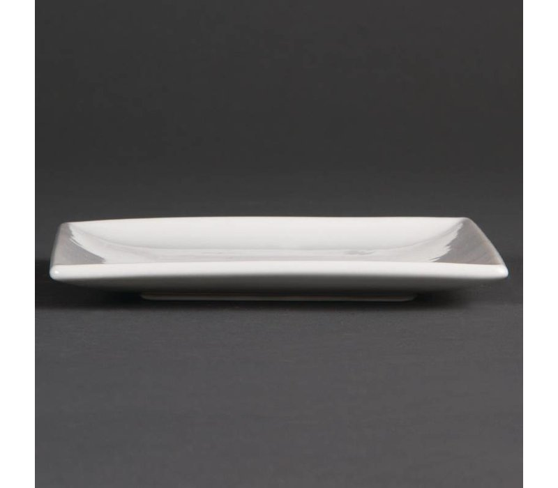 Olympia Bord Vierkant | Olympia Wit Porselein | 140mm | 12 Stuks