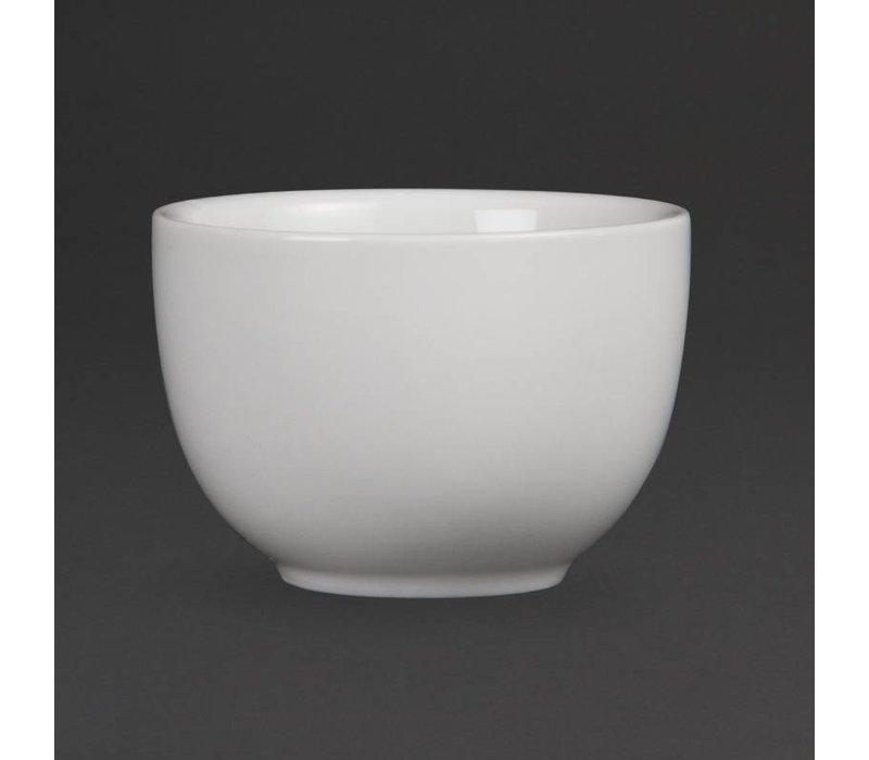 Olympia Chinese Theekom | Olympia Wit Porselein | Ø70mm | 12 Stuks