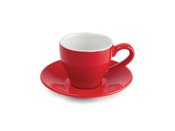 Olympia Espresso Red | Olympia Porcelain | 100ml | 12 pieces