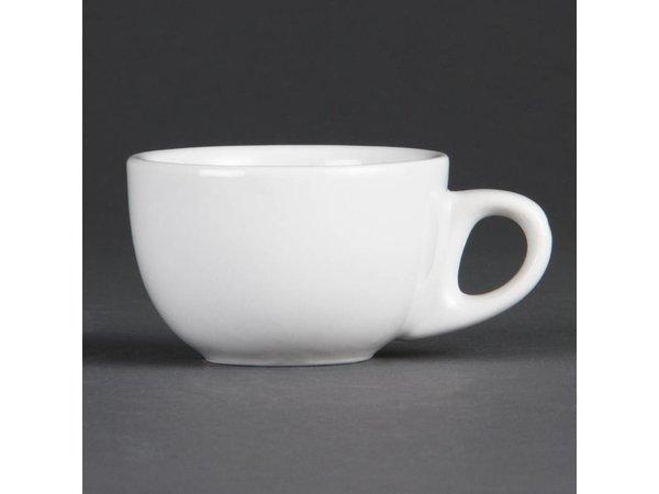 Olympia Espressokop | Olympia Wit Porselein | 90ml | 12 Stuks