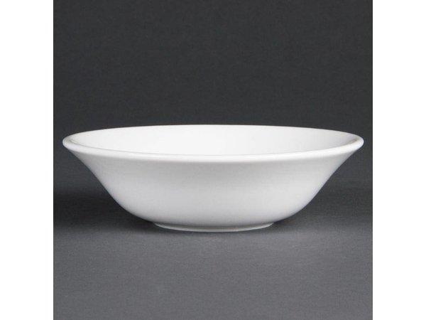 Olympia Dessertschaal | Olympia Wit Porselein | 150mm | 12 Stuks