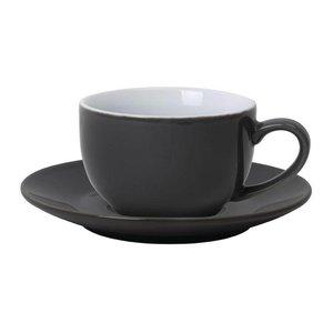 XXLselect Koffiekop Grijs | Olympia Porselein | 230ml | 12 Stuks