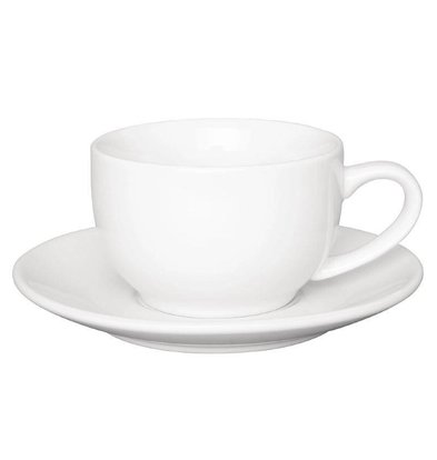 Olympia Koffiekop Wit | Olympia Porselein | 230ml | 12 Stuks