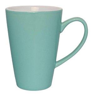 XXLselect Latte Beker Aqua | Olympia Porselein | 450ml | 12 Stuks