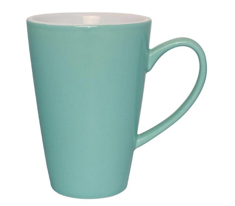 Olympia Latte Beker Aqua | Olympia Porselein | 450ml | 12 Stuks