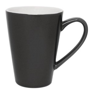 XXLselect Latte Beker Grijs | Olympia Porselein | 340ml | 12 Stuks