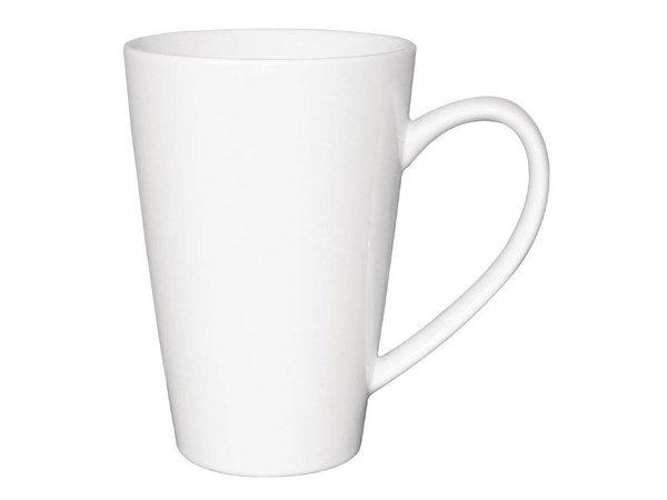 Olympia Latte Beker Wit | Olympia Porselein | 340ml | 12 Stuks