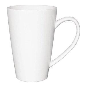 XXLselect Latte Beker Wit | Olympia Porselein | 450ml | 12 Stuks