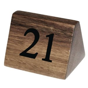 XXLselect Tafelnummers 21-30 | Massief Hout | 10 Stuks