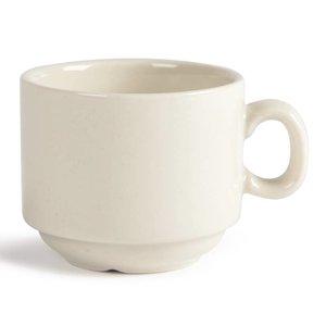XXLselect Ivory Espressokop | Duurzaam Porselein | 90ml | 12 Stuks