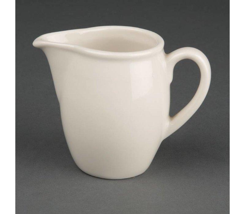 Olympia Ivory Melkkannetje | Duurzaam Porselein | 30ml | 6 Stuks
