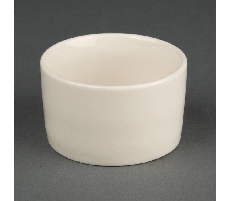 Olympia Ivory Ramekin | Duurzaam Porselein | Ø70mm | 12 Stuks
