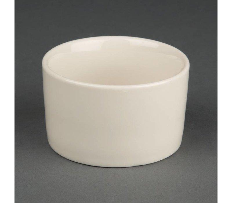 Olympia Ivory Ramekin | Duurzaam Porselein | Ø80mm | 12 Stuks