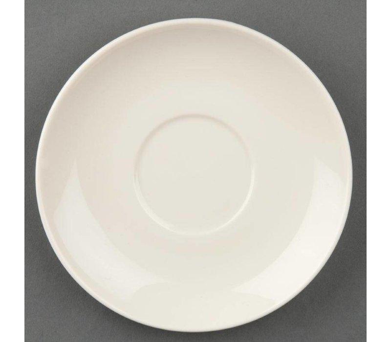 Olympia Ivory Schotel tbv U102 | Duurzaam Porselein | 12 Stuks