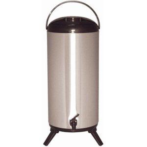 XXLselect Getränkeautomat | Doppelwandige Edelstahl | Hahn | Ø230mm | 14 Liter