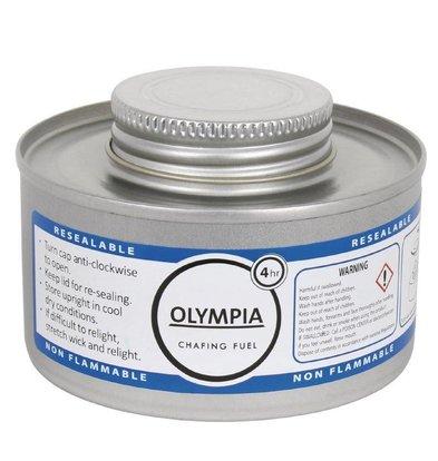Olympia Chafing Brandpasta 4 uur | 12 Stuks