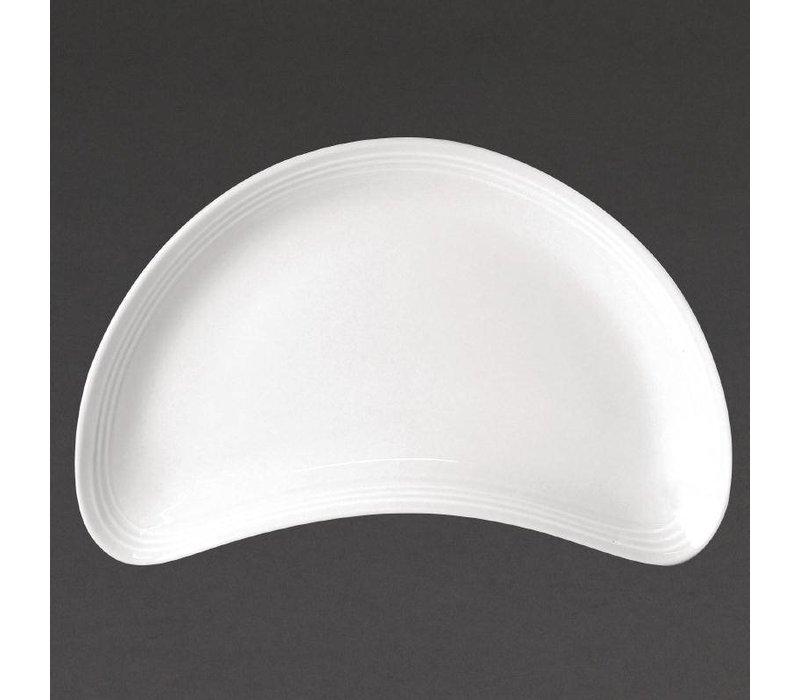 Olympia Saladeschaal | Linear Wit Porselein | 200mm | 12 Stuks