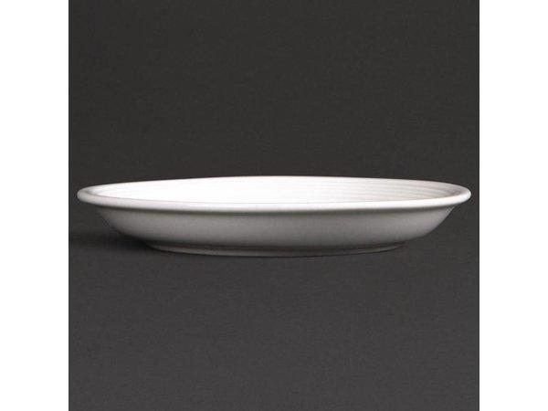 Olympia Schotel tbv U086 | Linear Wit Porselein | 12 Stuks