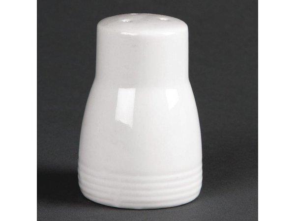 Olympia Zoutvaatje | Linear Wit Porselein | 12 Stuks