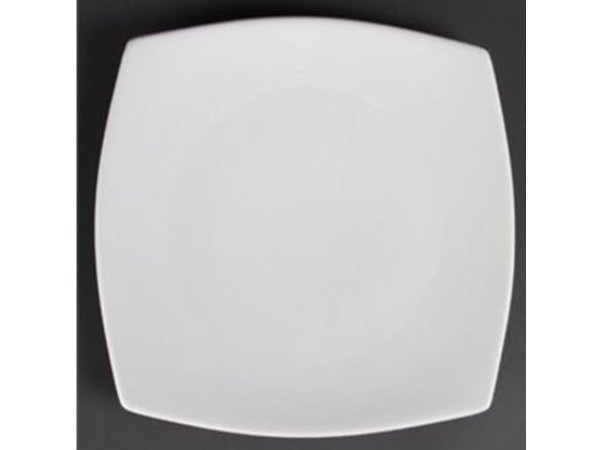Olympia Rounded plate | Olympia White Porcelain | 305mm | 6 pieces