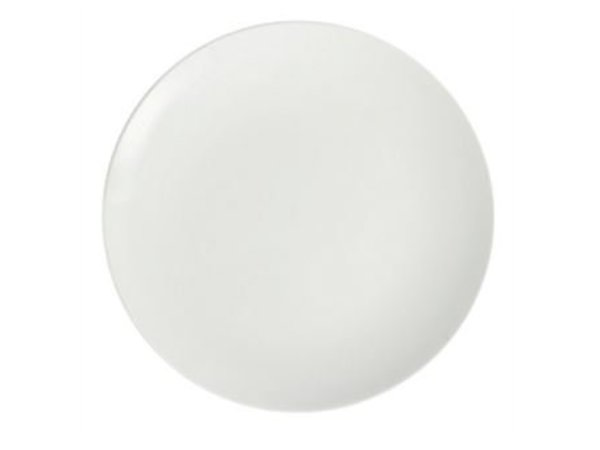 Olympia Coupe Plate | Olympia White Porcelain | 205mm | 6 pieces