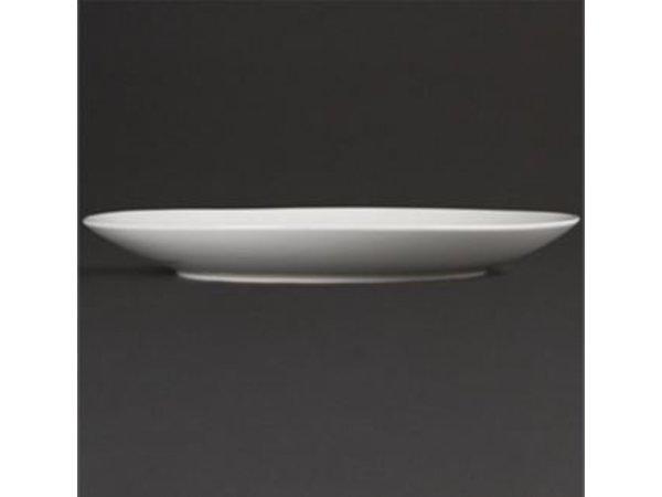 Olympia Coupebord | Olympia Wit Porselein | 230mm | 12 Stuks