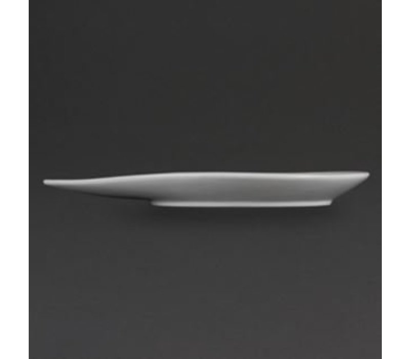 Olympia Board Drop Shape | Olympia White Porcelain | 310x245x32mm | 4 pieces